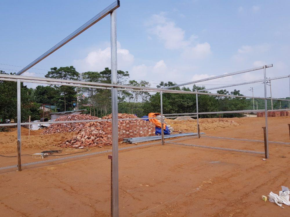 Khảo sát lắp dựng nhà xưởng kết cấu thép