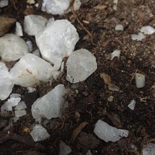 Sự phân bố của đá thạch anh