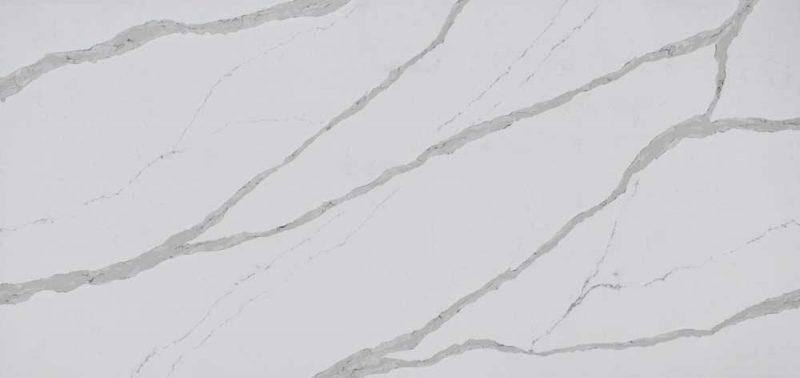 Artificial stone slabs made of quartz sand