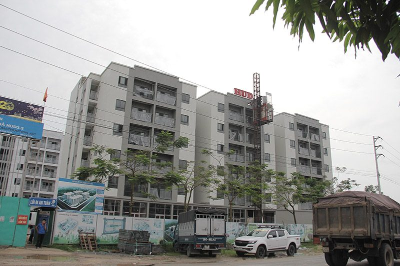 Khu nhà ở xã hội CT8 - Mê Linh
